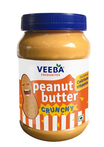 Veeba Crunchy Peanut Butter, मूंगफली का मक्खन - Veeba Food Services Private  Limited, Gurgaon | ID: 20289332973
