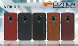 LEATHER MOBILE COVER FOR NOKIA-6.2