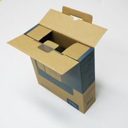 Rectangular Printed Corrugated Box, For Packaging