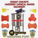 Cement concrete hardener chemical making machine
