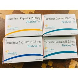 Tacrolimus IP 1.0/0.25/0.5/2.0mg Capsules