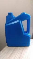 Blue Plastic Lubricant Oil Can