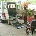 Motorised Wheelchair Lift for Van
