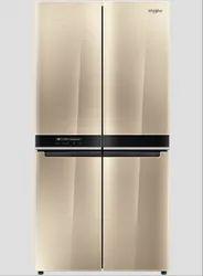 Golden Whirlpool W Series 4 Door 677 L Refrigerator