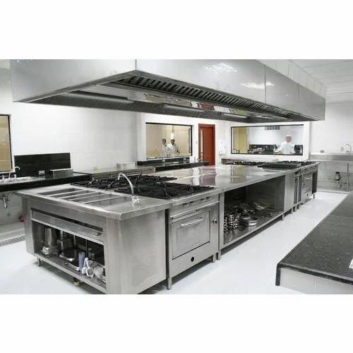 Stainless Steel Restaurant Kitchen, Rs 1000000 /unit, JMD