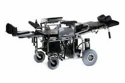 Powered Wheelchair With Manual Bed Function