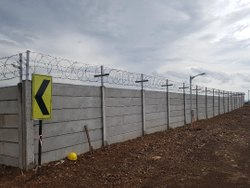 RCC Industrial Fencing Boundary Wall