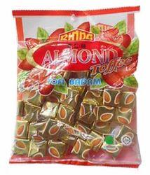RINDA Almond Hard Candies 200 gm Pack of 50
