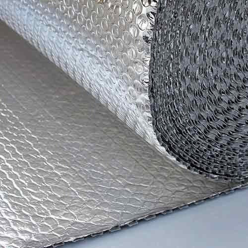 Bublair Silver Color Aluminum Air Bubble Roll