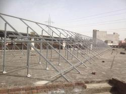 Roof Top Solar Panel Mounting Structure