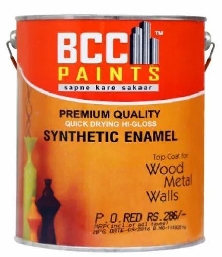 Smooth and Glossy BCC 10 L Hi Gloss Synthetic Enamel Paint