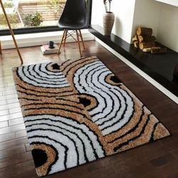 Multicolor Shaggy Floor Rugs