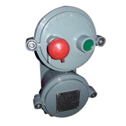 Flameproof Start Stop Push Button Station