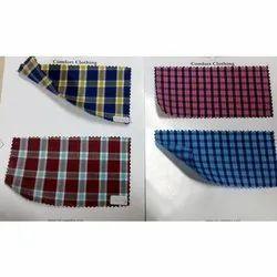 Cotton Check Shirting Fabric
