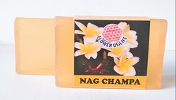 Handmade Champa Glycerin Soap - Transparent