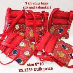 Sling Bag Kalamkari 125