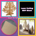Pine MDF Sheet Laser Cutting