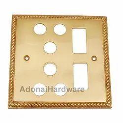 2 Small Decora & 2 Triplex Georgian Switch Plate