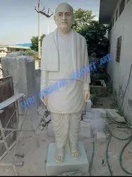 White marble sardar vallabhbhai patel statue
