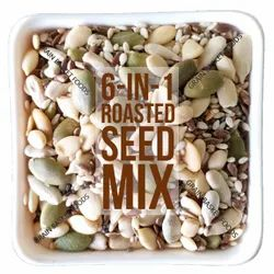 6-in-1 Roasted Seeds Trail Mix, For Ready To Eat, Packaging Size: 30 Kg
