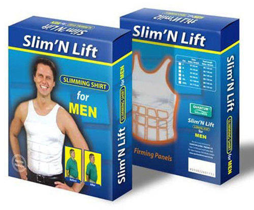 368342b8d5 Men  s Slimming Body Shaper Girdle T Shirt ( Slim N Lift )