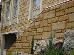 Teak Sandstone Wall Cladding