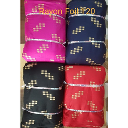 Rayon Gold Print