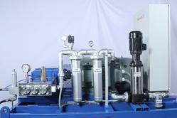 High Pressure Pumps, Motorised Hydrostatic Test Pump And System