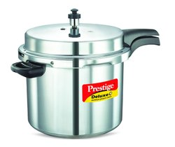 Outer Lid 10 Litre Prestige Deluxe Plus Aluminium Pressure Cooker, For Home