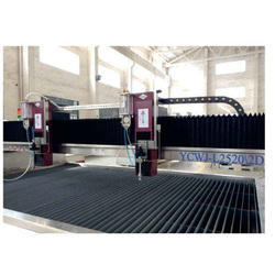 Double Cutting Heads Waterjet Cutting Machine