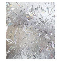 Decorative Frosted Glass, Size: 7x3 feet, Thickness: 4 to 6 mm