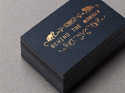 Gold / Silver Foiling Business Cards