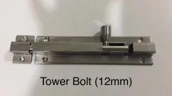 Matt Tower Bolt (12mm) 2 Piece 4 inch
