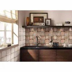 Ceramic Mosaic Kajaria Digital Wall Tile, Thickness: 5-10 mm