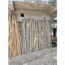 4-5 Inch Eucalyptus Nilgiri Wooden Shuttering Poles