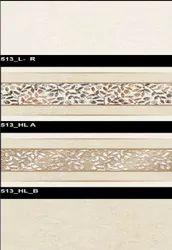 Glossy Series 513 (L-R, HLA, HL-B) Hexa Ceramic Tiles