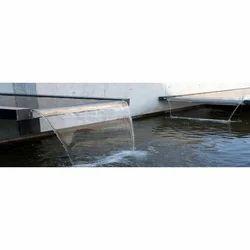 Modern Water Fall Sheet Fountain