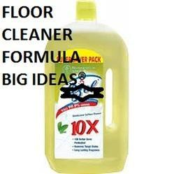 Floor Cleaner Formulation Consultancy
