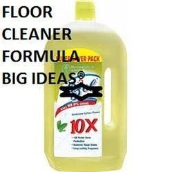 Floor Cleaner Formulation Consultancy