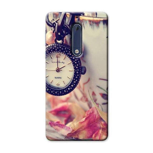 online store 22a54 a5215 Nokia 5 Hard Plastic Printed Back Cover