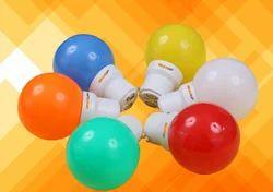 Polycarbonate GEARUP 0.5w LED Bulb, 0.5 W, 100-270 VAC