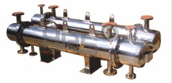 Polished Stainless Steel Heat Exchanger for Pharmaceutical Industry