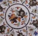 Table Top Marble of with Inlay Work