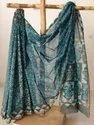 Hand Block Printed Silk Saree