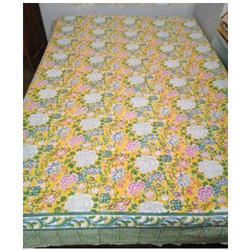 Yellow Flow Single Bedsheets