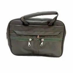 Black Polyester Cash Bag