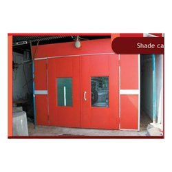 Floor Mounted Paint Booth
