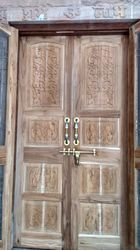 Wood Traditional Wooden Door