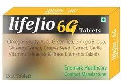 Omega-3 Fatty Acid, Green Tea, Ginkgo Biloba Tablets
