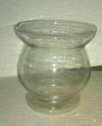 transparent Glass Hurricane 5'', For decorative